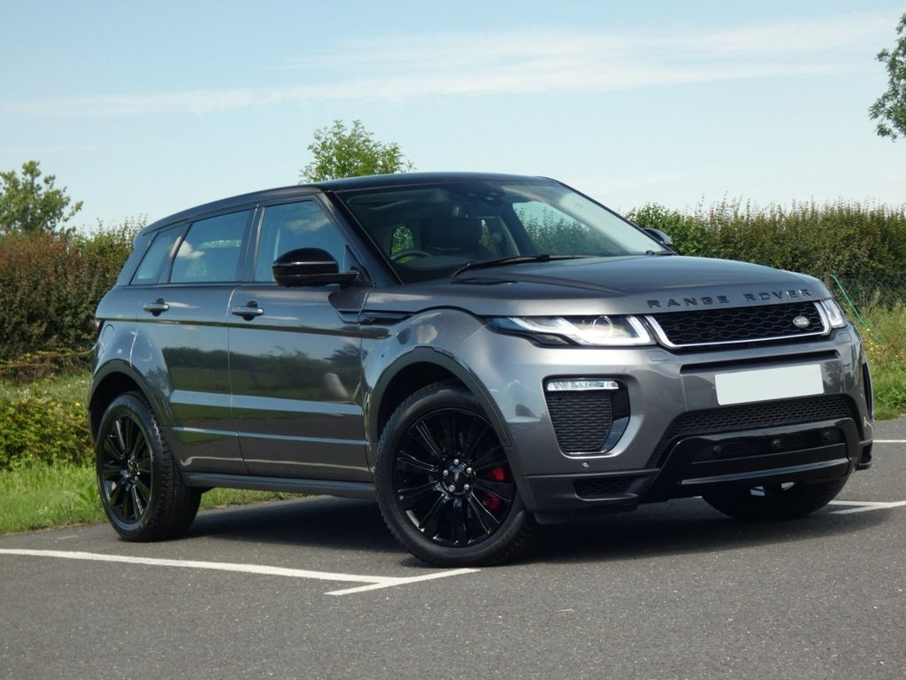 USED 2017 17 LAND ROVER RANGE ROVER EVOQUE 2.0 SI4 HSE DYNAMIC LUX 5d 237 BHP