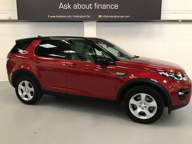 USED 2016 66 LAND ROVER DISCOVERY SPORT 2.0 TD4 SE TECH 5d 150 BHP