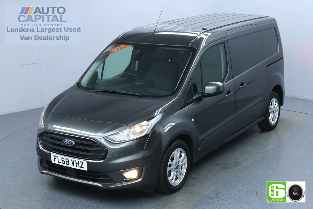 USED 2018 68 FORD TRANSIT CONNECT 1.5 240 Limited 120 BHP L2 LWB 3 Seats Euro 6 Low Emission Finance Available Online | Keyless | Rear Tow Fitted