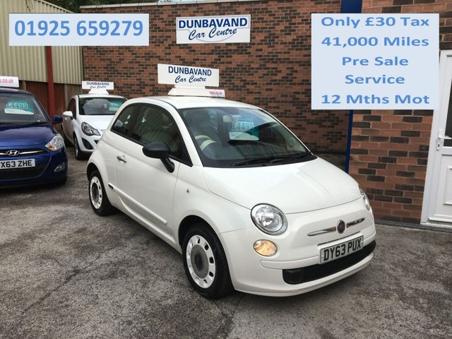 USED 2013 63 FIAT 500 1.2 POP 3d 69 BHP Only £30 Road Tax,Only 41,000 Miles, Low Insurance Group, Pre Sale Service & 12 Mths Mot !