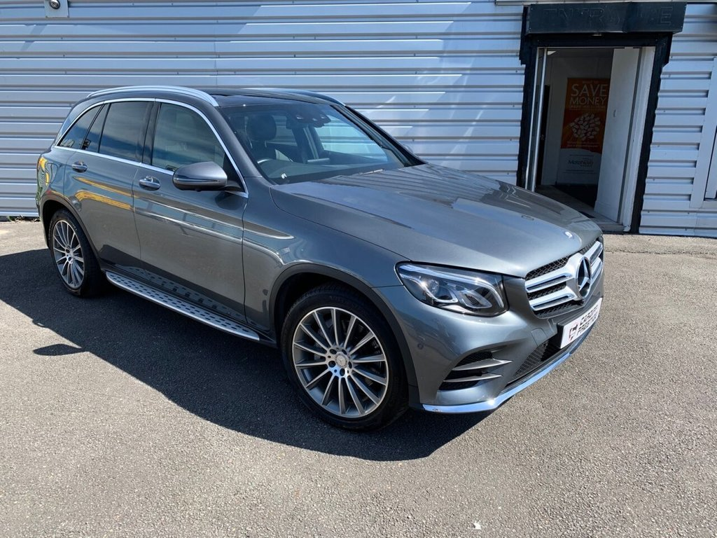 USED 2016 66 MERCEDES-BENZ GLC-CLASS 2.1 GLC 220 D 4MATIC AMG LINE PREMIUM 5d 168 BHP £3405 in optional extras!!