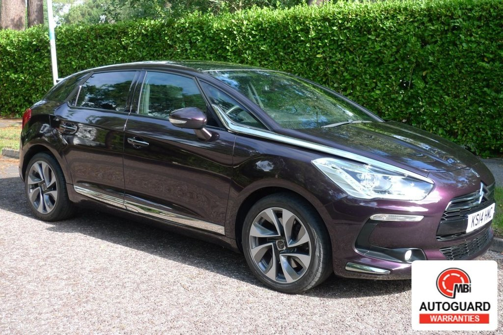 USED 2014 14 CITROEN DS5 2.0 HDI DSTYLE 5d 161 BHP LOW MILEAGE..SERVICE HISTORY