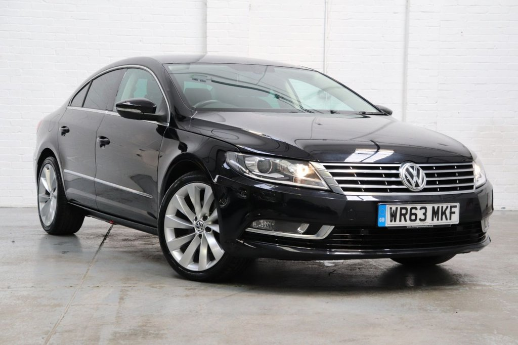 USED 2013 63 VOLKSWAGEN CC 2.0 GT TDI BLUEMOTION TECHNOLOGY 4d 138 BHP Leather Heated Seats + Satnav + Cruise + Dab + Parking Aid