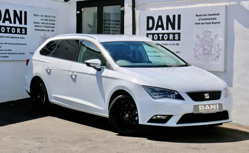 USED 2016 16 SEAT LEON 1.6 TDI SE Technology Business ST (s/s) 5dr 1 OWNER*SAT NAV*PARKING AID*