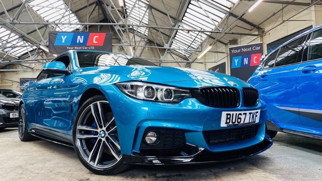 USED 2017 67 BMW 4 SERIES 2.0 420d M Sport Auto (s/s) 2dr PERFORMANCEKIT+DIGITALDASH+19S