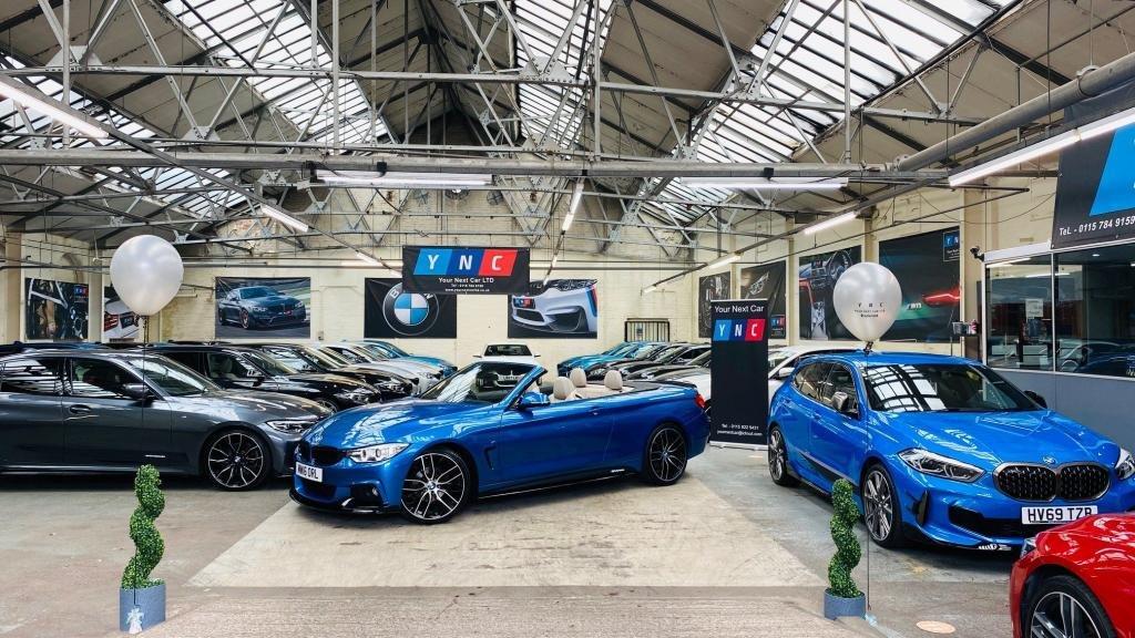 USED 2016 16 BMW 4 SERIES 2.0 420i M Sport 2dr PERFORMANCEKIT+20S+HTDLTHR