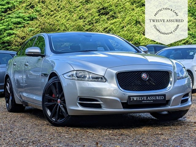 USED 2014 14 JAGUAR XJ 3.0 D V6 PORTFOLIO 4d AUTO 275 BHP (PANORAMIC ROOF)