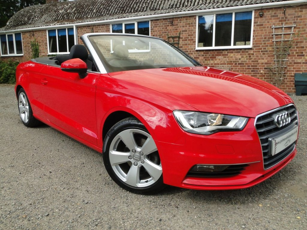 USED 2015 15 AUDI A3 1.6 TDI Sport Cabriolet S/S