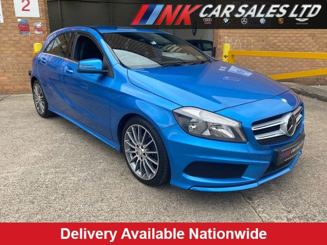 USED 2014 63 MERCEDES-BENZ A-CLASS 1.8 A200 CDI BLUEEFFICIENCY AMG SPORT 5d 136 BHP BUY NOW PAY LATER  SAT NAV