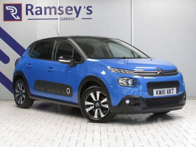 USED 2018 18 CITROEN C3 1.2 PURETECH FLAIR S/S 5d 109 BHP