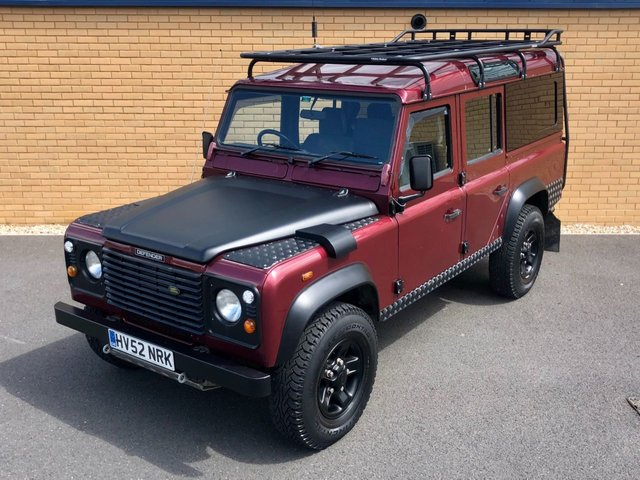 2002 52 LAND ROVER DEFENDER 110 // TD5 // COUNTY STATION WAGON 5d // 2.5L 120 BHP // Px swap
