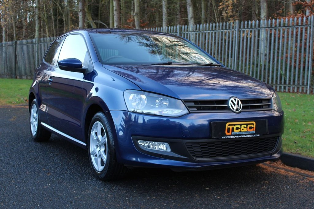 USED 2011 11 VOLKSWAGEN POLO 1.2 MODA 3d 60 BHP A WELL MAINTAINED EXAMPLE WHICH COMES WITH A COMPREHENSIVE SERVICE HISTORY!!!