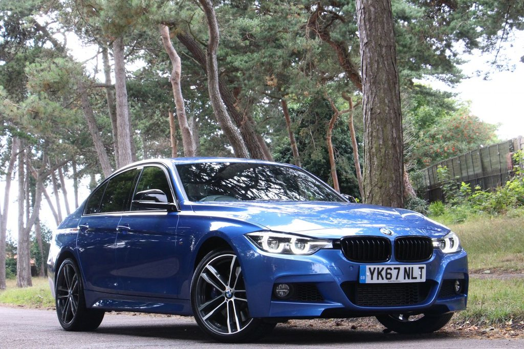 USED 2017 67 BMW 3 SERIES 335D XDRIVE M SPORT SHADOW EDITION 309BHP