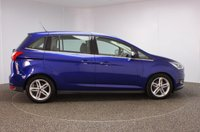 USED 2016 16 FORD GRAND C-MAX 1.5 TITANIUM X TDCI 5DR 7 SEATS 1 OWNER 118 BHP FULL SERVICE HISTORY + £30 12 MONTHS ROAD TAX + HEATED LEATHER SEATS + 7 SEATS + PANORAMIC ROOF + SATELLITE NAVIGATION + REVERSE CAMERA + PARK ASSIST + PARKING SENSOR + BLIND SPOT MONITORING + BLUETOOTH + CRUISE CONTROL + CLIMATE CONTROL + MULTI FUNCTION WHEEL + REAR SUNBLINDS + DAB RADIO + XENON HEADLIGHTS + ELECTRIC WINDOWS + ELECTRIC/FOLDING/HEATED DOOR MIRRORS + 17 INCH ALLOY WHEELS