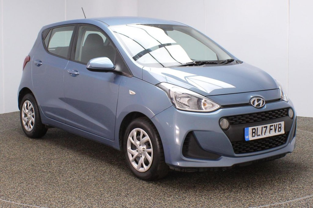 USED 2017 17 HYUNDAI I10 1.0 SE 5DR 1 OWNER 65 BHP FULL SERVICE HISTORY + BLUETOOTH + CRUISE CONTROL + MULTI FUNCTION WHEEL + AIR CONDITIONING + DAB RADIO + AUX/USB PORTS + ELECTRIC WINDOWS + ELECTRIC MIRRORS