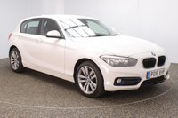 USED 2016 16 BMW 1 SERIES 1.5 116D SPORT 5DR 1 OWNER AUTO 114 BHP FULL BMW SERVICE HISTORY + £20 12 MONTHS ROAD TAX + SATELLITE NAVIGATION + BLUETOOTH + MULTI FUNCTION WHEEL + AIR CONDITIONING + DAB RADIO + AUX/USB PORTS + ELECTRIC WINDOWS + ELECTRIC MIRRORS + 17 INCH ALLOY WHEELS