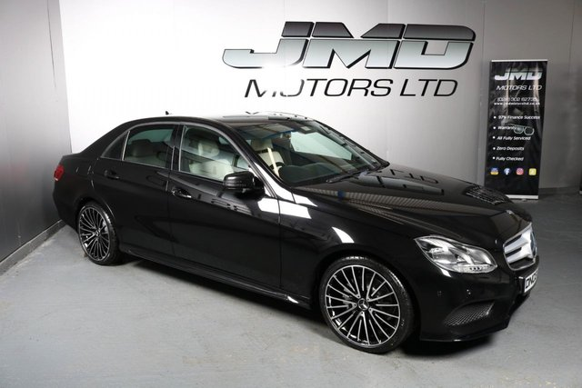 USED 2013 03 MERCEDES-BENZ E-CLASS 2013 MERCEDES E220 CDI AMG SPORT NIGHT EDITION STYLE 168 BHP  ( FINANCE & WARRANTY)