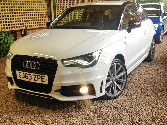 2013 63 AUDI A1 1.6 TDI S LINE STYLE EDITION 3d 103 BHP