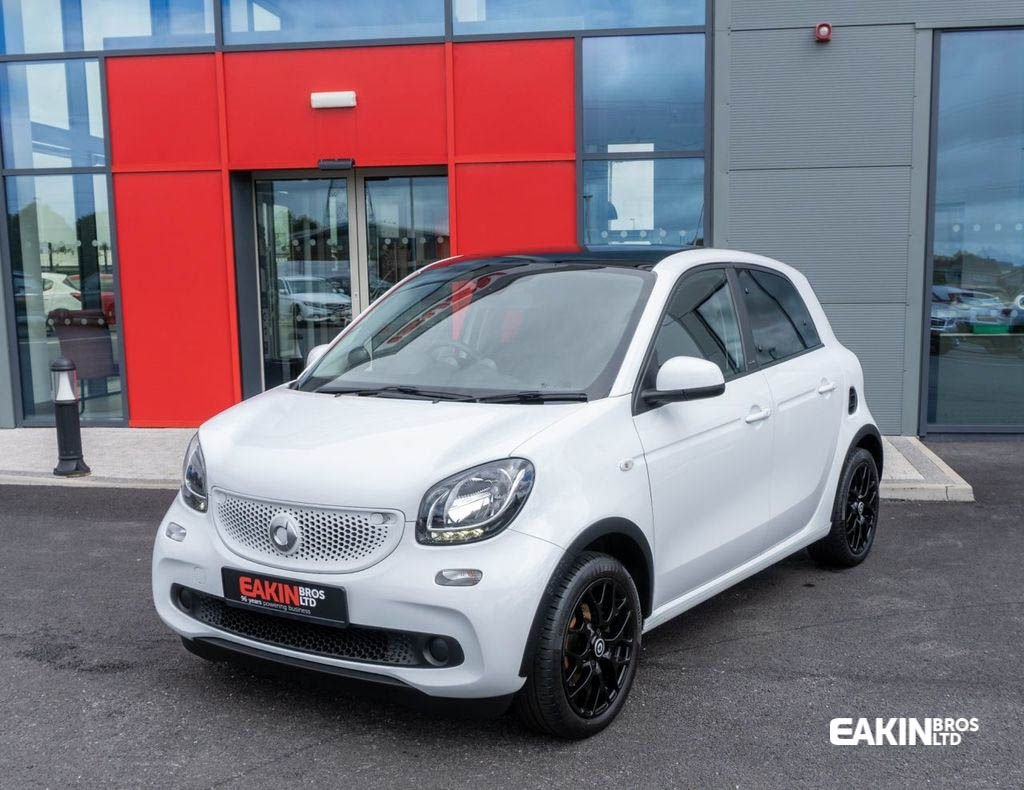 USED 2016 SMART FORFOUR 1.0 EDITION WHITE 5d 71 BHP EDITION WHITE