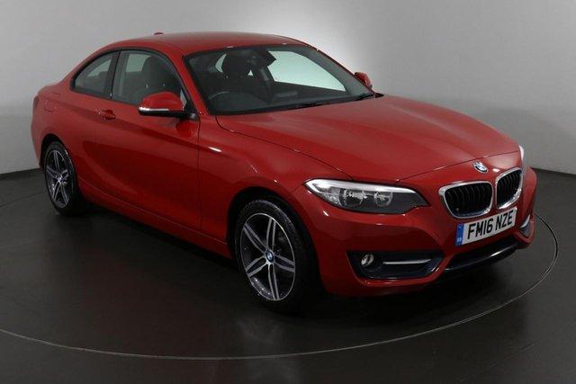 2016 16 BMW 2 SERIES 1.5 218I SPORT 2d 134 BHP ULEZ EXEMPT