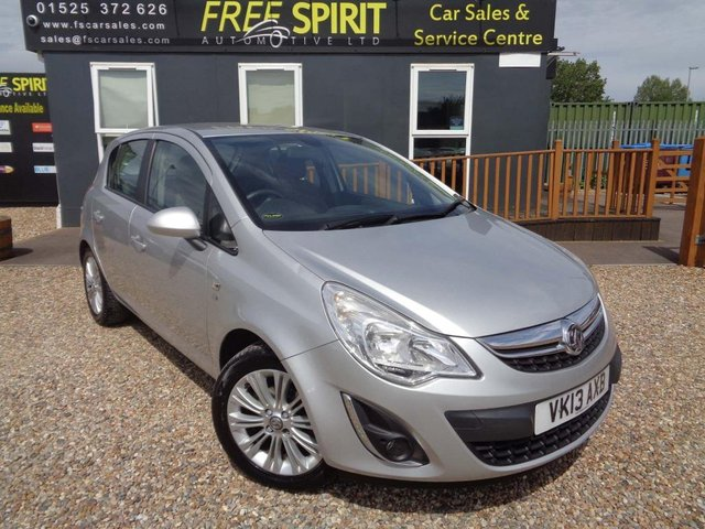 USED 2013 13 VAUXHALL CORSA 1.4 i 16v SE 5dr (a/c) Sat Nav-Phone-Heated Seats
