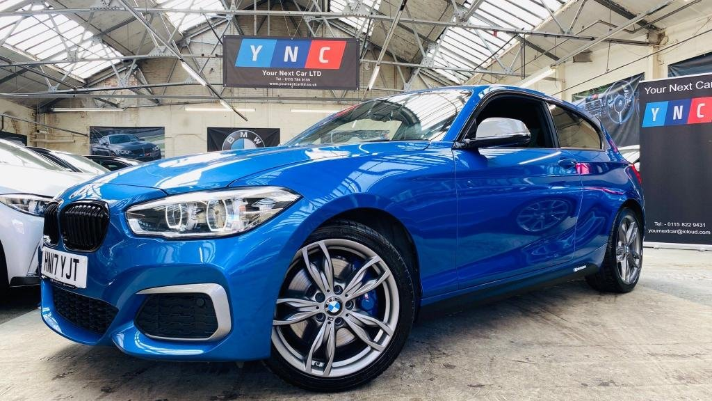 USED 2017 17 BMW 1 SERIES 3.0 M140i Auto (s/s) 3dr PERFORMANCEKIT+PRONAV+HK+1OWN!