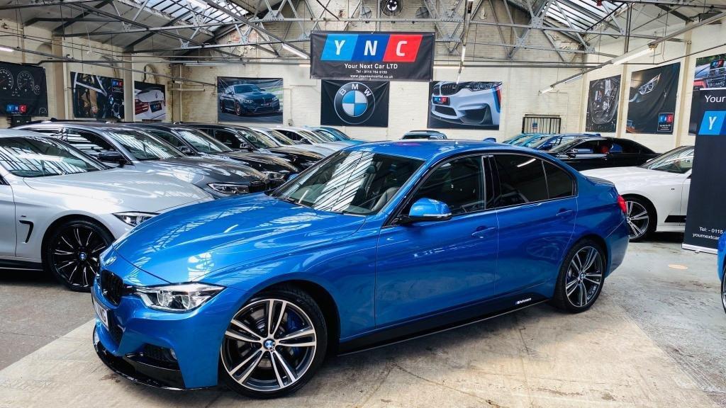 USED 2017 17 BMW 3 SERIES 3.0 335d M Sport Auto xDrive (s/s) 4dr PERFORMANCEKIT+PLUSPACK+19S