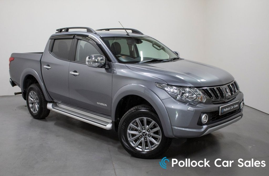 USED 2018 18 MITSUBISHI L200 WARRIOR 178BHP MANUAL 3.5T TOWING 3.5T Towing, Full Mitsubishi History, Excellent Condition