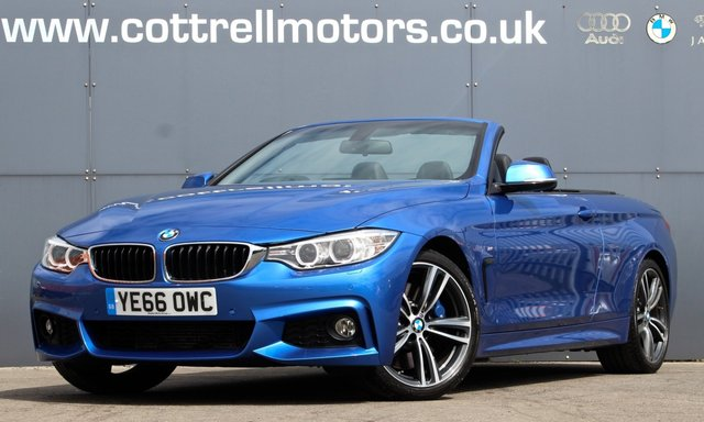 2016 66 BMW 4 SERIES 3.0 430D M SPORT 2d 255 BHP [ M PLUS ]