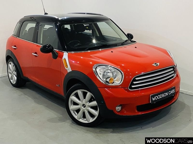 USED 2012 12 MINI COUNTRYMAN 1.6 COOPER D ALL4 5d 112 BHP 2 Previous Owners / Bluetooth / USB / Aux