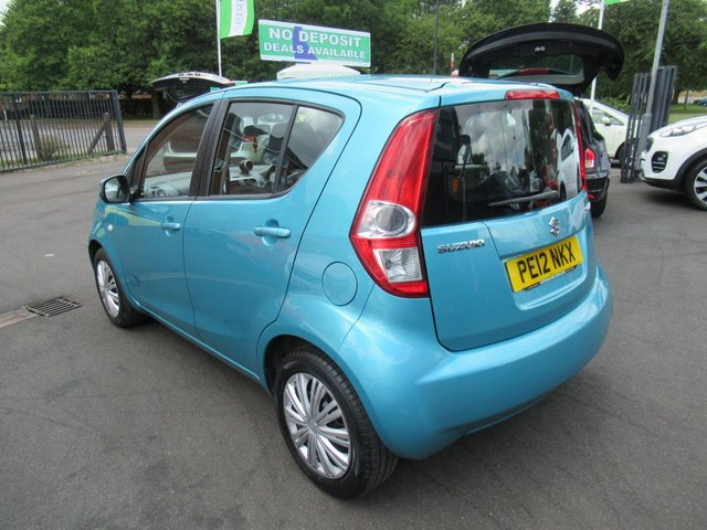 USED 2012 12 SUZUKI SPLASH 1.0 SZ2 5d 68 BHP **CLICK AND COLLECT ON YOUR NEXT CAR**