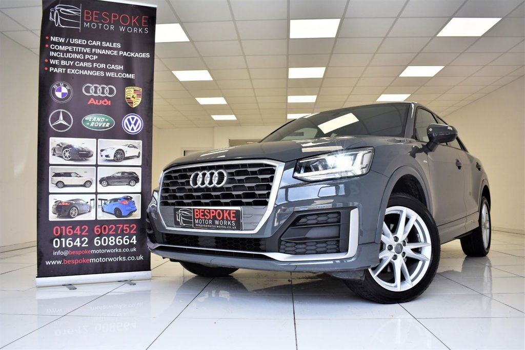 USED 2019 69 AUDI Q2 1.6 TDI S LINE 5 DOOR
