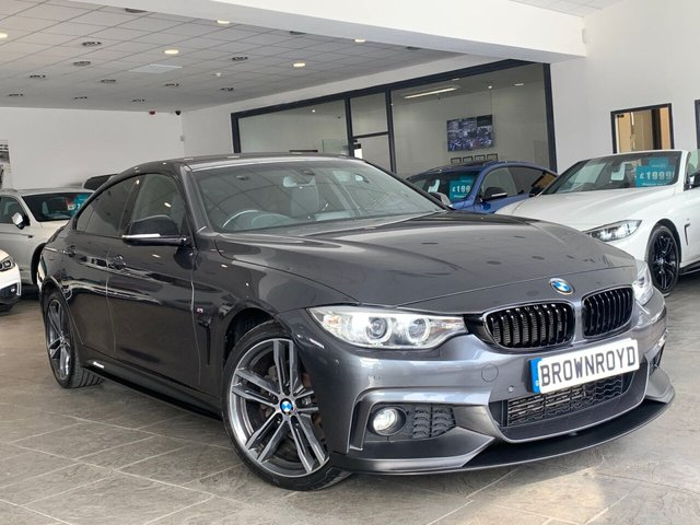 USED 2015 65 BMW 4 SERIES GRAN COUPE 3.0 430D XDRIVE M SPORT GRAN COUPE 4d 255 BHP BM PERFORMANCE STYLING+6.9%APR