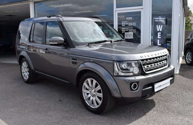 2015 15 LAND ROVER DISCOVERY 4 3.0 SDV6 COMMERCIAL SE 255 BHP 5 SEATER STOP/START