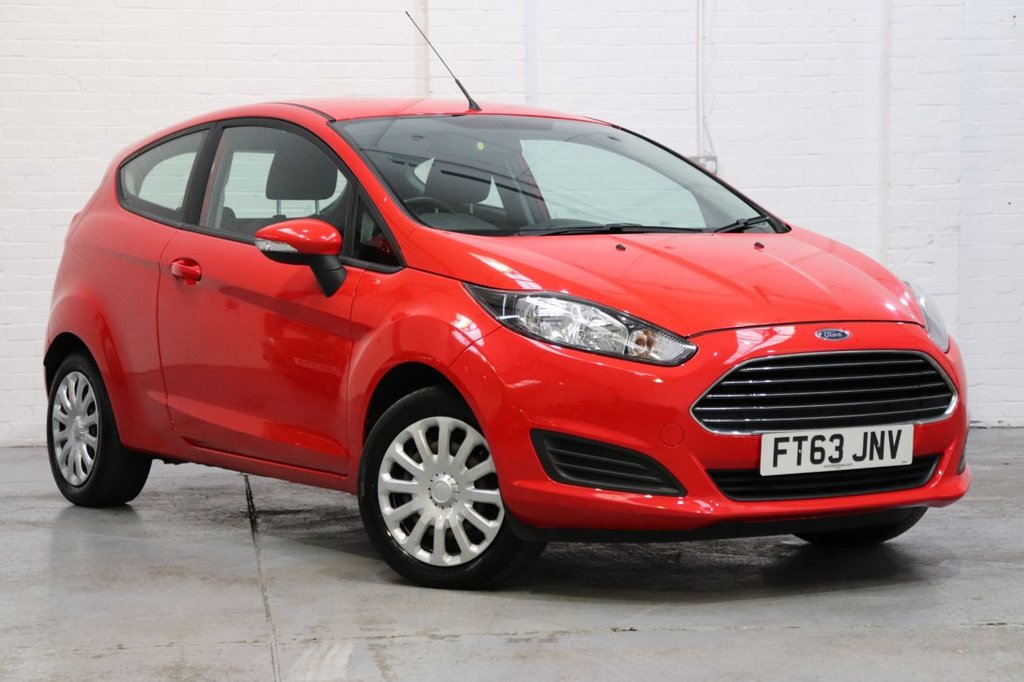 USED 2014 63 FORD FIESTA 1.2 STYLE 3d 59 BHP Recently Serviced + Long mot