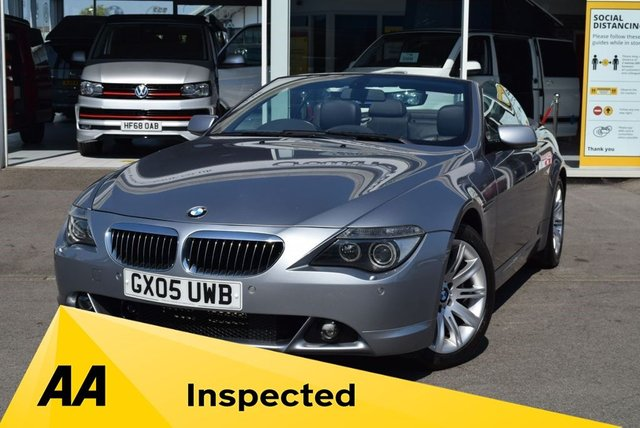 USED 2005 05 BMW 6 SERIES 4.4 645CI 2d 329 BHP FINANCE TODAY WITH NO DEPOSIT - SERVICE HISTORY