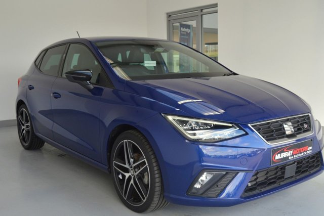 USED 2019 SEAT IBIZA 1.6 TDI FR SPORT *MYSTERY BLUE WITH ONLY 3000 MILES*