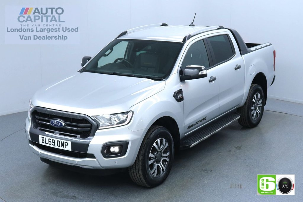USED 2019 69 FORD RANGER 3.2 WILDTRAK TDCI AUTO 200 BHP Low Emission Finance Available Online | Sat Nav | Leather Seats | Reversing camera