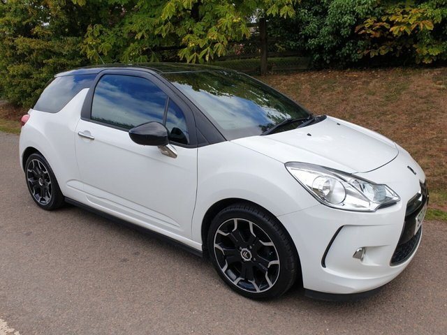 USED 2011 11 CITROEN DS3 1.6 DSTYLE PLUS 3d 120 BHP ** TIMING CHAIN ** MOT ** SERVICE HISTORY **