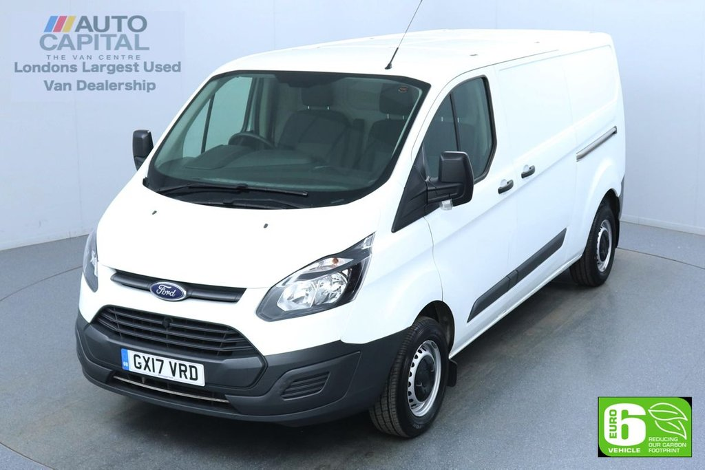 USED 2017 17 FORD TRANSIT CUSTOM 2.0 290 L2 H1 130 BHP Euro 6 Low Emission   Finance Available Online | Fully Sanitised Service | UK Delivery