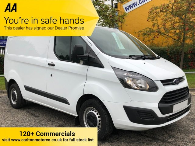 2017 17 FORD TRANSIT CUSTOM 290 TDCi 105 LOW ROOF L1H1 PANEL VAN FWD