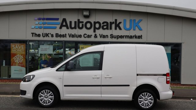 USED 2014 14 VOLKSWAGEN CADDY 1.6 C20 TDI TRENDLINE BMT 101 BHP LOW DEPOSIT OR NO DEPOSIT FINANCE AVAILABLE . COMES USABILITY INSPECTED WITH 30 DAYS USABILITY WARRANTY + LOW COST 12 MONTHS ESSENTIALS WARRANTY AVAILABLE FOR ONLY £199 .  WE'RE ALWAYS DRIVING DOWN PRICES .