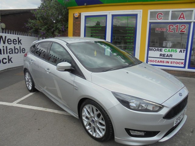 USED 2017 67 FORD FOCUS 1.0 ST-LINE 5d 124 BHP JUST ARRIVED FORD FOCUS ST LINE