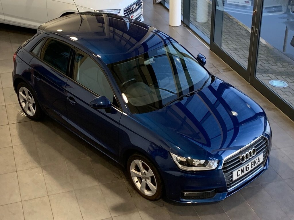 USED 2016 16 AUDI A1 2016/16 - 1.6 SPORTBACK TDI SPORT 5d 114 BHP  �£679 OF OPTIONAL EQUIPMENT + LOW MILEAGE + 34K ONLY + �£0 R/TAX + 76.3 MPG