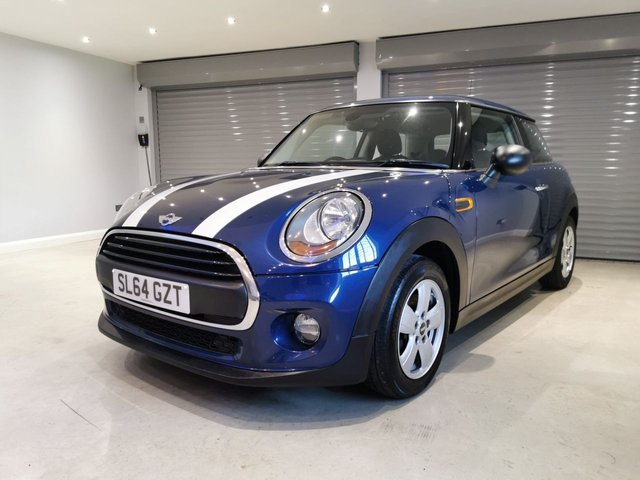 USED 2014 64 MINI HATCH ONE 1.5 ONE D 3d 94 BHP PEPPER PACK + FREE ROAD TAX