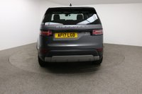 USED 2017 17 LAND ROVER DISCOVERY 2.0 SD4 HSE 5d AUTO 237 BHP Finished in stunning metallic Corris Grey + 20 inch alloys + Full black leather interior + Sat nav + Full service history + Cruise control + Meridian Sound system + Reverse camera + Front / rear parking sensors + 7 Seats + Panoramic Roof + Electric Powered boot + Heated front / rear seats + Bluetooth + DAB Radio + Start / stop + Air con + Dual climate control + Electric Folding mirrors + Electric windows + Auto lights / wipers + Blind spot assist + Electric adjustable Steering wheel