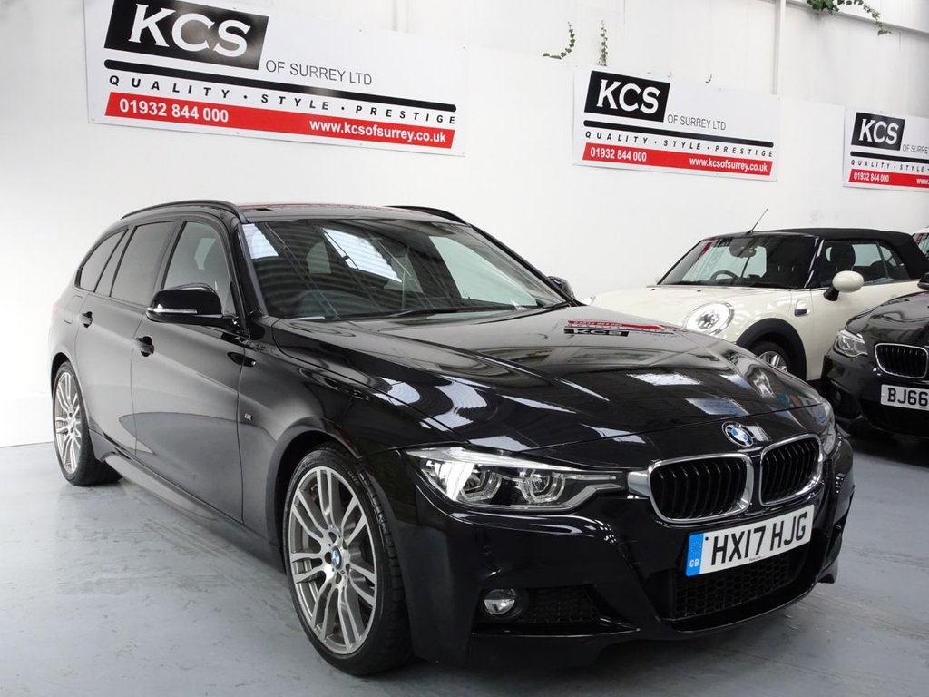 USED 2017 17 BMW 3 SERIES 2.0 330I M SPORT TOURING 5d 248 BHP PRO NAV - ELEC SEATS - CAMERA