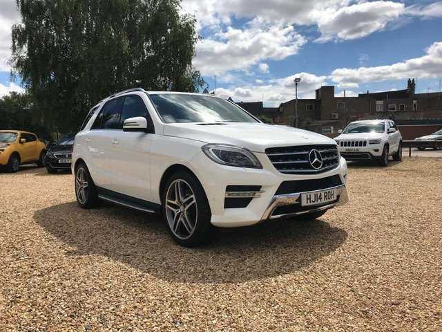 USED 2014 14 MERCEDES-BENZ M-CLASS 3.0 ML350 CDI BlueTEC AMG Sport 7G-Tronic Plus 5dr Sat Nav, Airmatic, 21' Alloys