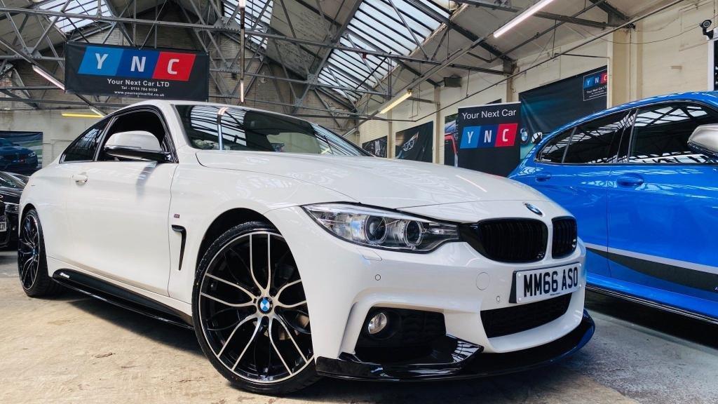 USED 2016 66 BMW 4 SERIES 2.0 420i M Sport (s/s) 2dr PERFORMANCEKIT+20S+HTDLTHR