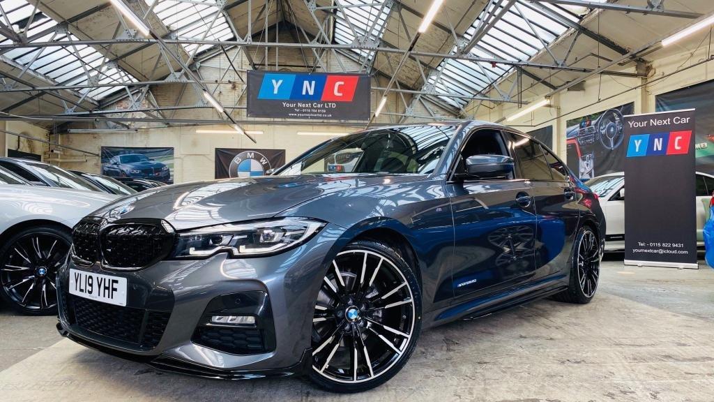 USED 2019 19 BMW 3 SERIES 2.0 320i M Sport Auto (s/s) 4dr PERFORMANCEKIT+20S+REVCAM